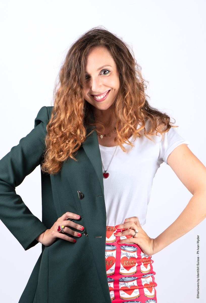 Con didascalia Valentina Indelicato designer, beauty consultant & image expert